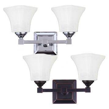 L2-6382 Traditional 2-Light Wall Bracket