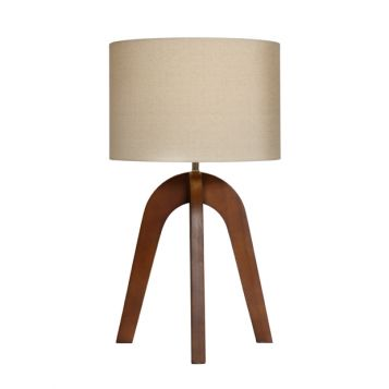 L2-5597 Timber Base Table Lamp