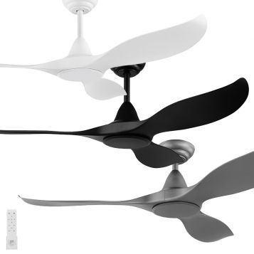 "Noosa 1320mm (52"") DC ABS Blades Ceiling Fan with Remote"