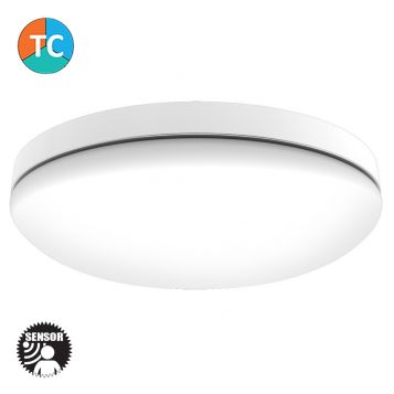 L2U-9206 30w Commercial Tri-Colour LED Oyster Light from
