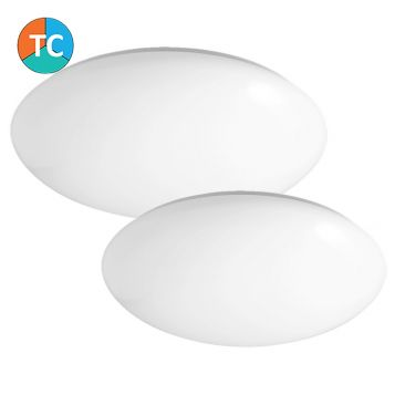 L2U-9200 Opal Polycarbonate LED Oyster Light Range from