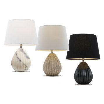 L2-5423 Ceramic Base Table Lamp Range