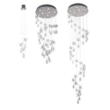 L2-11441 Crystal Pendant Light Range