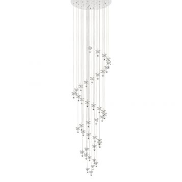 L2-1569 Crystal LED Pendant Light