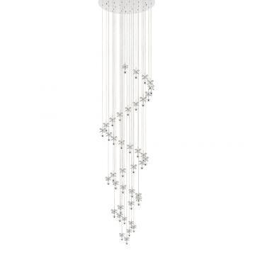 L2-1569 Crystal LED Pendant Light