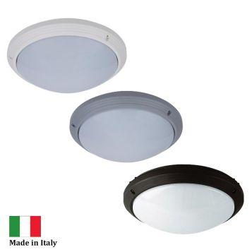 L2U-4398 Round Polycarbonate Exterior Bunker Light Range