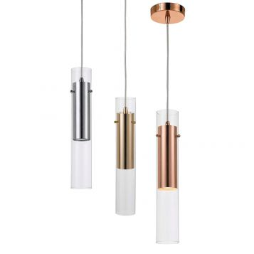L2-1702 Thin Drop Pendant Light