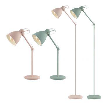 L2-5632 Steel Table and Floor Lamp Range