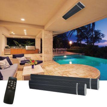 L2U-123 (IP65) Heatwave Pro Radiant Strip Heater Range from