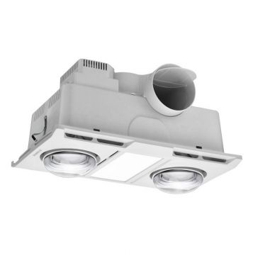 L2U-1144 Profile 3in1 Bathroom 2 Heat, Light and Exhaust Fan