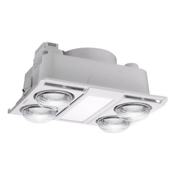 L2U-1145 Profile 3in1 Bathroom 4 Heat, Light and Exhaust Fan