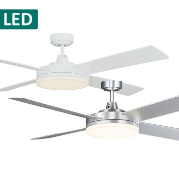 Razor 1300 Slim Profile Ceiling Fan with LED Light from