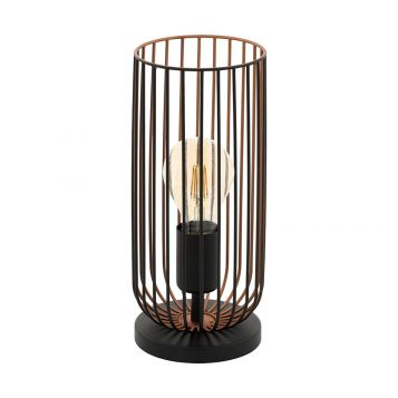 L2-5613 Metal Cage Table Lamp