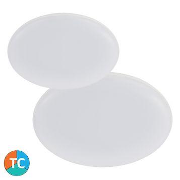 L2U-1010 Tri-Colour LED Oyster Light Range - White