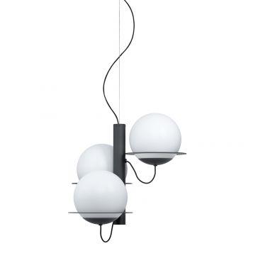 L2-11497 Black Pendant Light