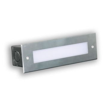L2U-4506 Stainless Steel Recessed Step Light