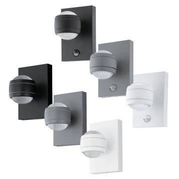 L2U-41034 Exterior Up/down LED Wall Light Range with Optional Sensor
