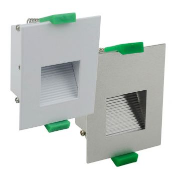 L2-6303 Square Recessed LED Step Light Range