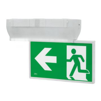 L2U-7353 Surface Mounted LED Emergency Exit Sign Light