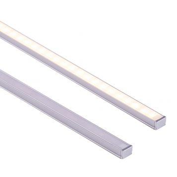L2U-7246 Shallow Square Aluminium Profile