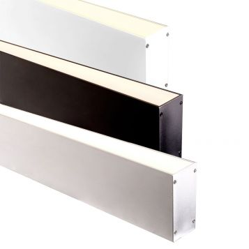 L2U-7242 Thin Deep Square Aluminium Profile