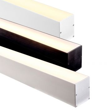 L2U-7233 Deep Large Square Aluminium Profile