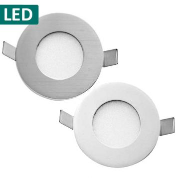 L2-6300 Round Recessed LED Wall Light
