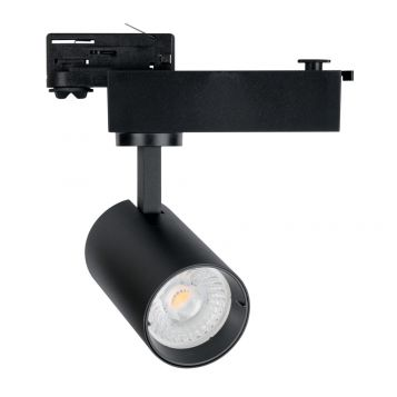 L2-3133 22w Three Phase LED Track Light - Black