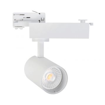 L2-3133 22w Three Phase LED Track Light - White