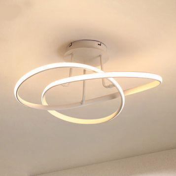 L2-11219 White LED Close to Ceiling Light