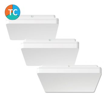 L2U-9132 Square Polycarbonate LED Oyster Light Range from