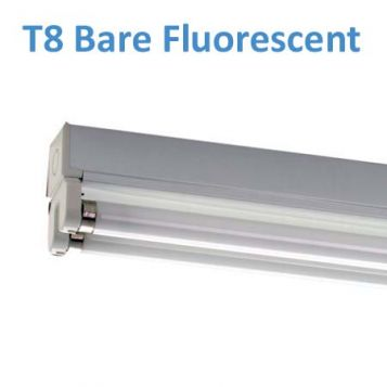 L2U-501 T8 Bare Fluorescent Battens from
