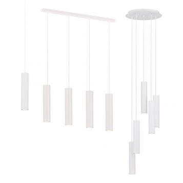 L2-11521 White LED Pendant Light Range
