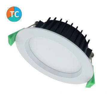 13w Titan Wide Beam LED Downlight Complete Kit - White (100 Degree Beam - 970lm)