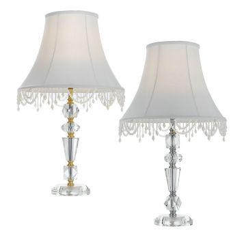 L2-5433 Glass Table Lamp Range