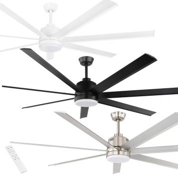"Tourbillion 1524mm (60"") DC Ceiling Fan with LED Light & Remote"