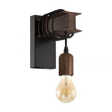 L2-6354 Antique Brown Wall Light
