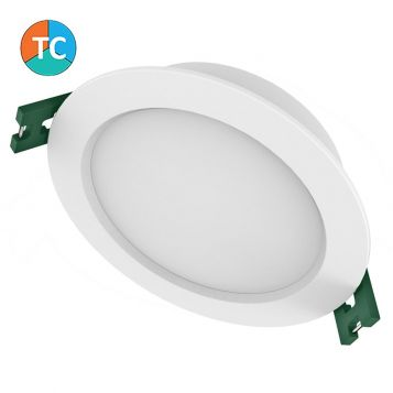 9w S9141TC Tri-Colour LED Downlight (110 Degree Beam - 800lm) from