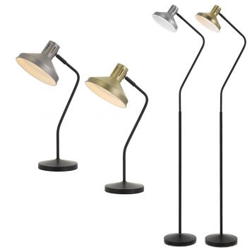 L2-5695 Metal Desk & Floor Lamp Range from