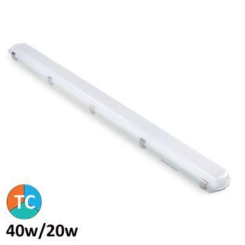 L2U-7330 40w LED Weatherproof Batten Light