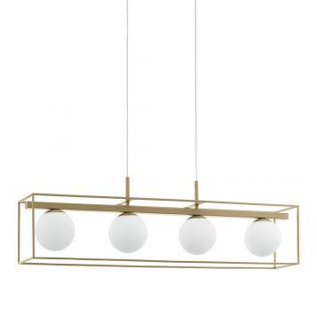 L2-11540 4-Light Linear Pendant Light