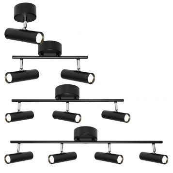 L2-3113 Black LED Spot Light Range