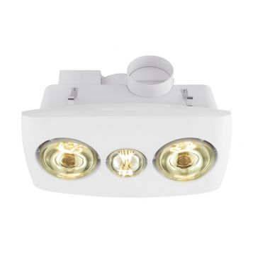 L2U-1150 3in1 Bathroom 2 Heat, Light and Exhaust Fan