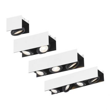 L2-394 White/black LED Spotlight Range
