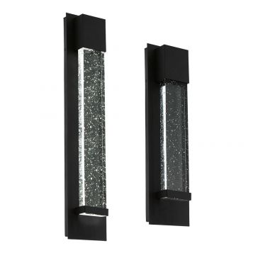 L2-6189 Black Exterior LED Wall Light Range
