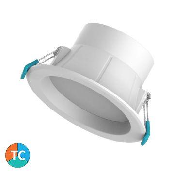 8w Viva Tri-Colour LED Downlight - Recessed Face (100 Degree Beam - 850lm)