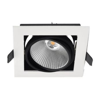 10w Xbox Adjustable LED Downlight (45 Degree Beam - 820lm)