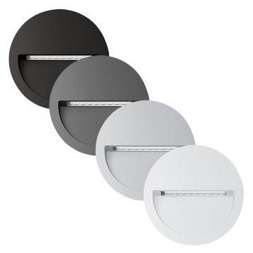 L2U-4584 Round Recessed LED Wall Light Range