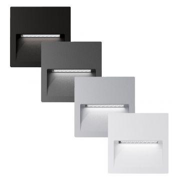 L2U-4584 Square Recessed LED Wall Light Range