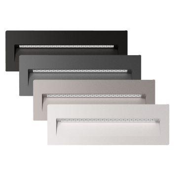 L2U-4584 Rectangle Recessed LED Wall Light Range